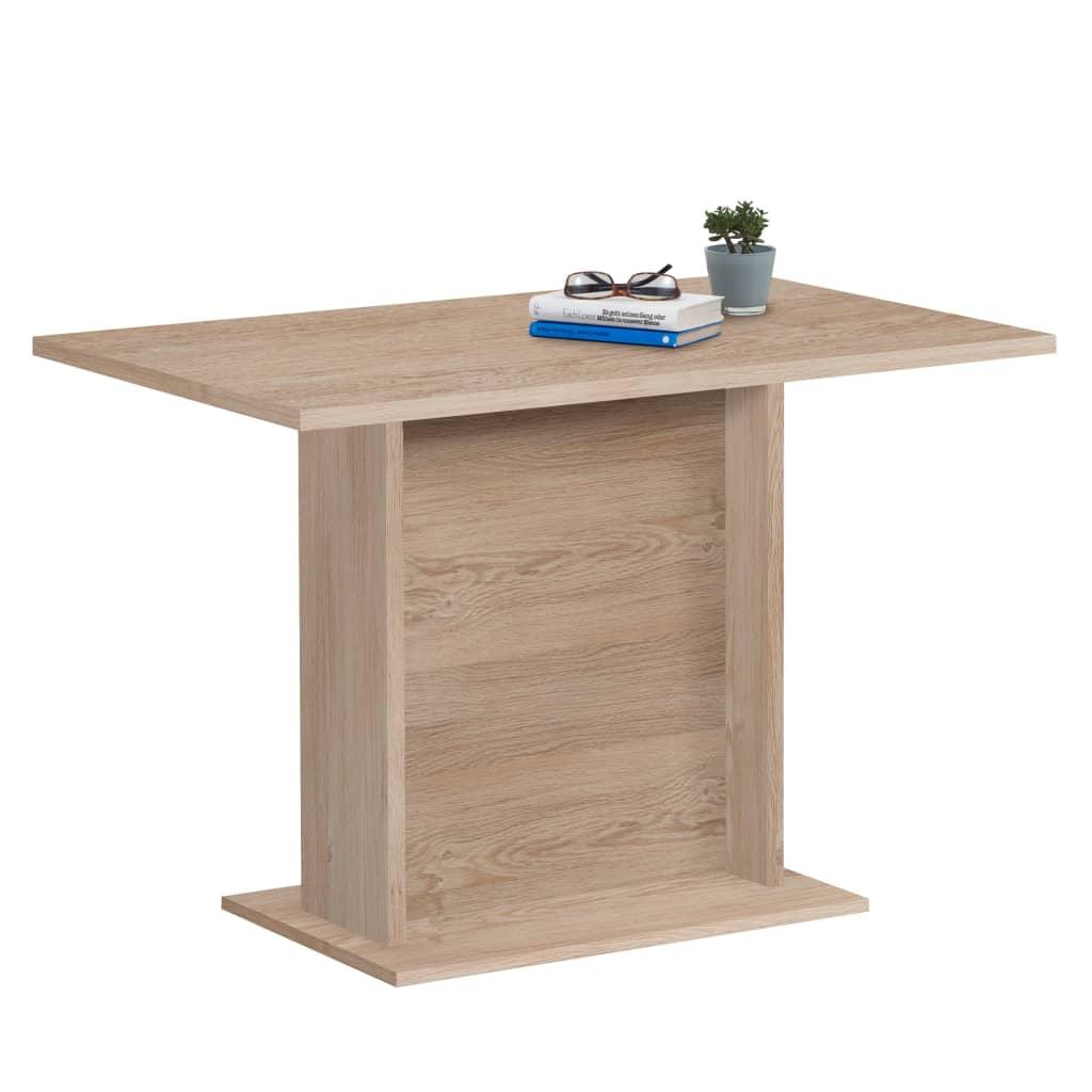 FMD blagovaonski stol 110 cm boja hrasta
