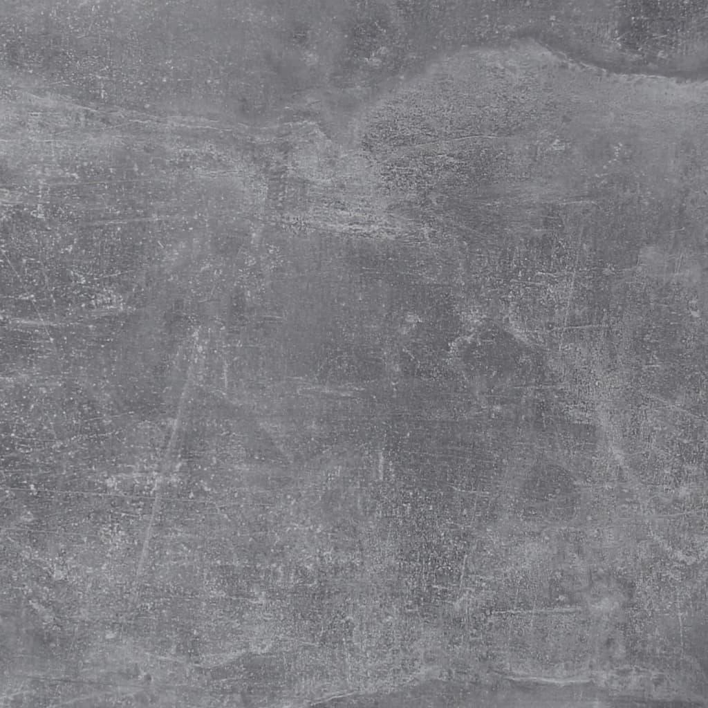 FMD Schoenenkast met 3 kantelende vakken wit en betonkleurig