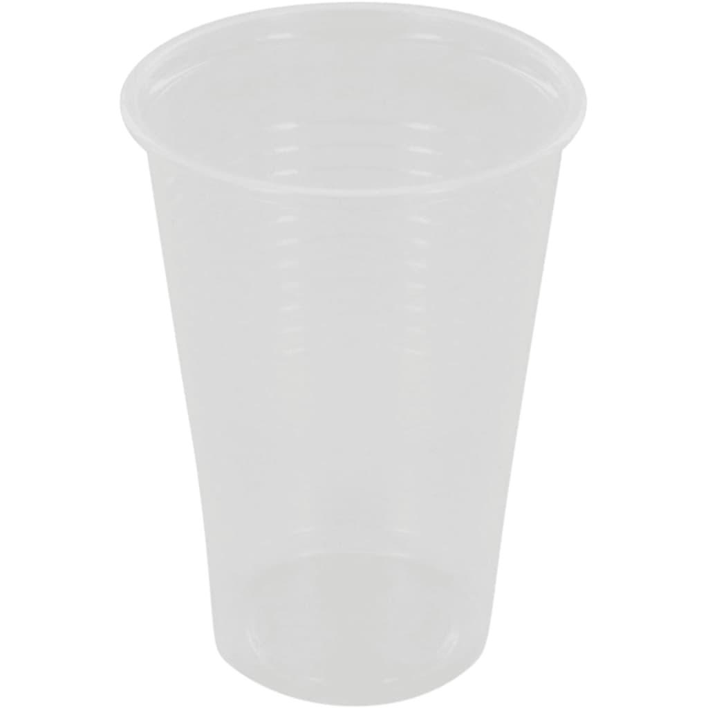 Afbeelding van DIVERSEN Drinkbeker, PP, 200ml, transparant