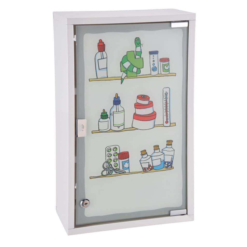 HI Dulap de medicamente, 30 x 15 x 50 cm, oțel inoxidabil poza vidaxl.ro