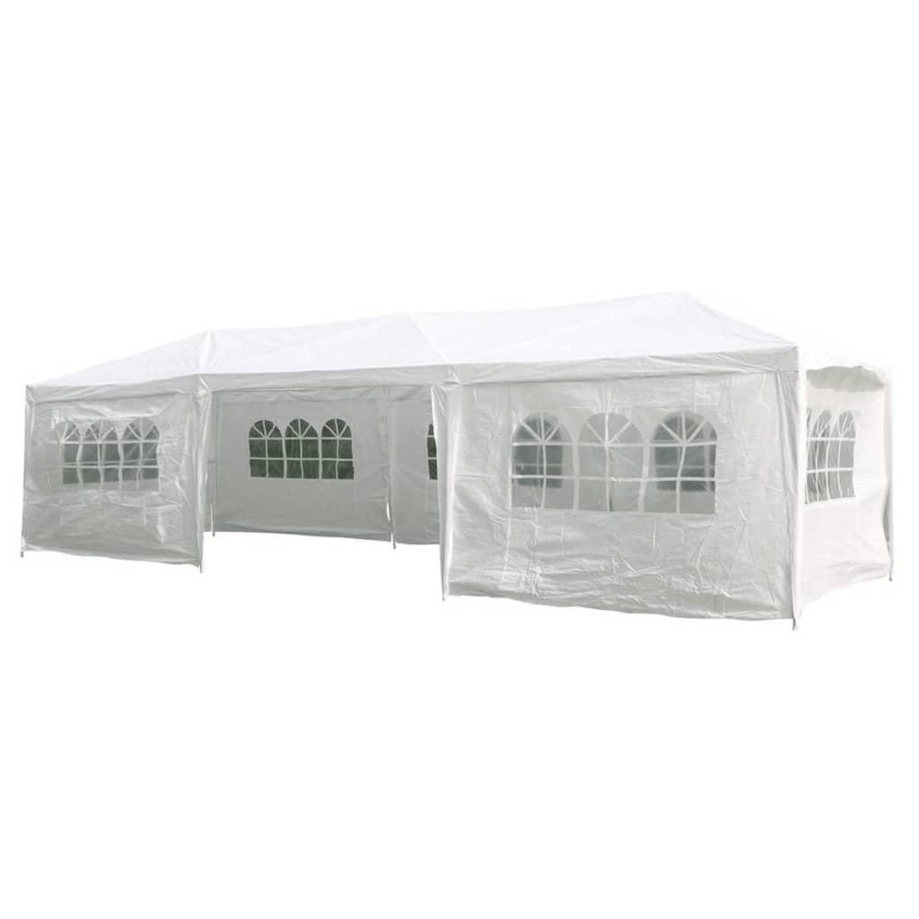 HI Cort de petrecere cu pereți laterali, alb, 3 x 9 m vidaxl.ro