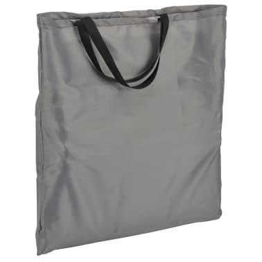 HI Chaise tapis de plage pliable PVC Gris[4/5]