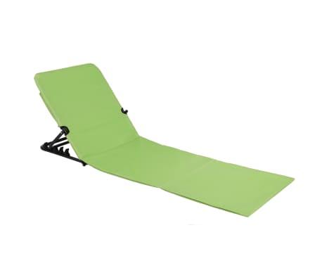 HI Chaise tapis de plage pliable PVC Vert[2/5]