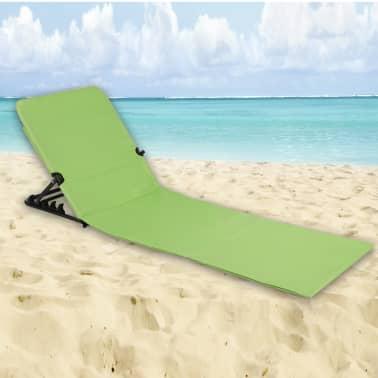 HI Chaise tapis de plage pliable PVC Vert[5/5]