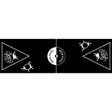 HI Sulankstomas Beer Pong žaidimo stalas, juodas, regul. aukščio[2/3]