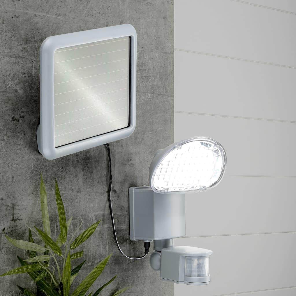 HI Luce da Giardino Solare a LED con Sensore di Movimento in Plastica