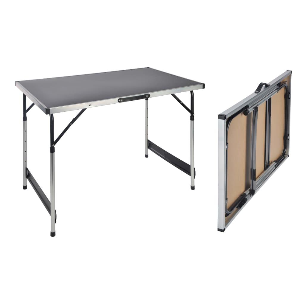 HI Klaptafel 100x60x94 cm aluminium
