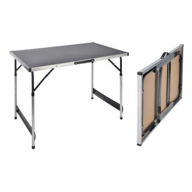 HI Klaptafel 100x60x94 cm aluminium[2/2]
