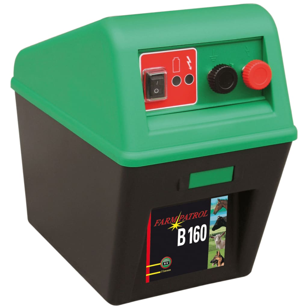 Afbeelding van Kerbl Elektrische Omheining Energiser Farm Patrol B 160 Zwart / Groen 363500