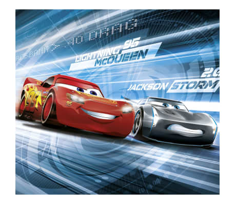 Komar Photo mural Cars Simulation 184x254 cm Rouge