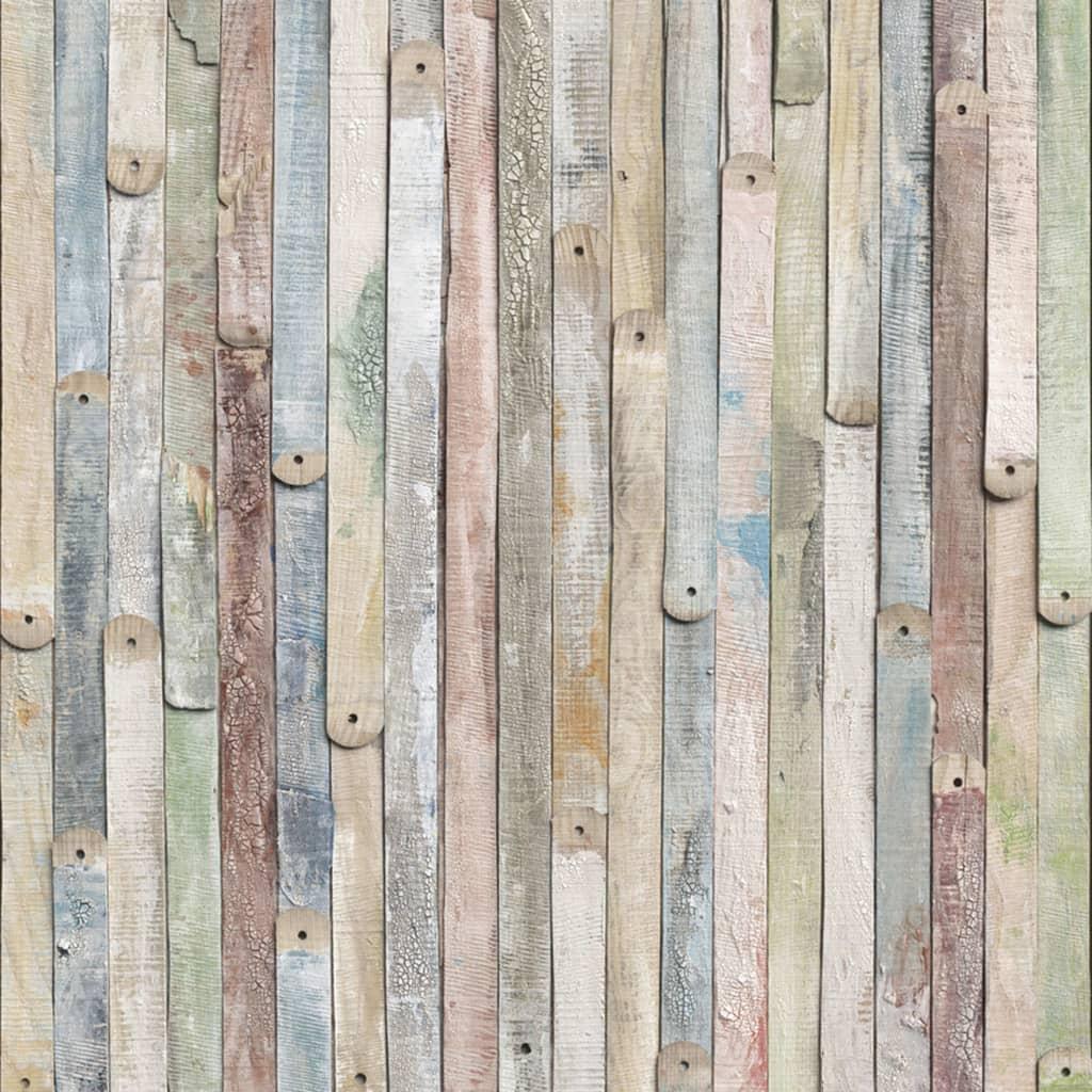 Komar Fototapet mural Vintage Wood, 184 x 254 cm 4-910 vidaxl.ro