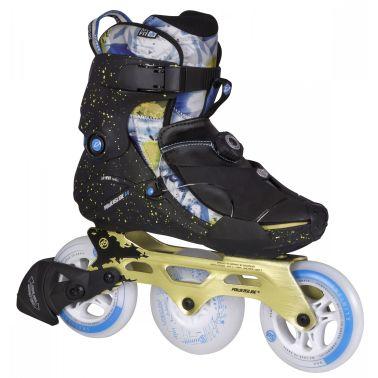 8fd9fbf869e Powerslide Inline Skates VI Fothoni 3-wheel zwart maat 44 online ...