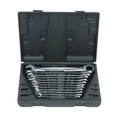 KS Ringmaulschlüssel Maulschlüssel 72-Zahn 12-tlg. 8-19mm[1/2]
