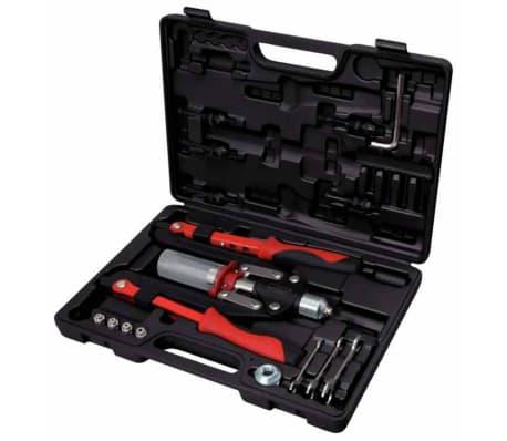 KS Tools Jeu d'outils de rivetage universels 11 pcs 150.9630[1/6]