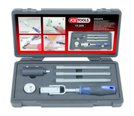 KS Tools Juego de montaje de lavabos 6 piezas 116.2050