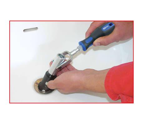 KS Tools Monteringssats för tvättställ 6 delar 116.2050[6/6]