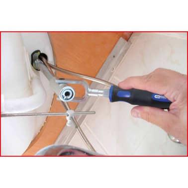 KS Tools Monteringssats för tvättställ 6 delar 116.2050[5/6]