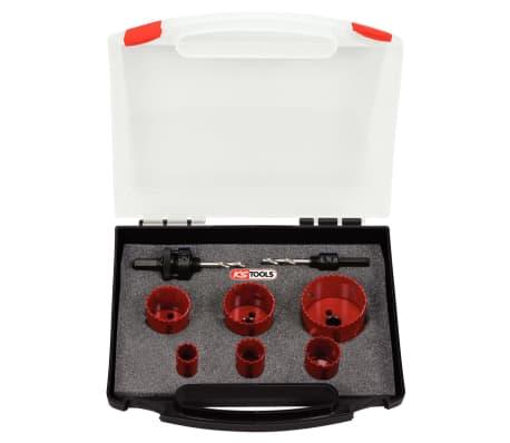Conjunto de serras de copo KS TOOLS para electricista, 8 peças[1/2]