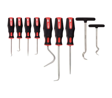 KS Tools Master Haken-Werkzeug-Satz, 9-tlg.[2/2]