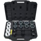 KS Tools 20 pièces Assortiment de douilles de traction et de pression