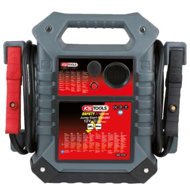 KS Tools Arrancador/ Amplificador de emergencia para coche, 12V, 700MA[1/2]