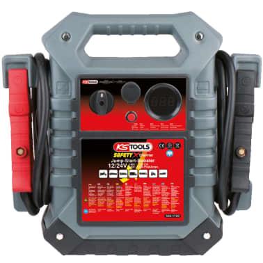 KS Tools Arrancador/ Amplificador coche, 12V / 24V, 1400/700 A[1/2]