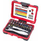 KS Tools Jeu de clé à cliquet et d'embout 32 pcs TORSIONpower 918.3010