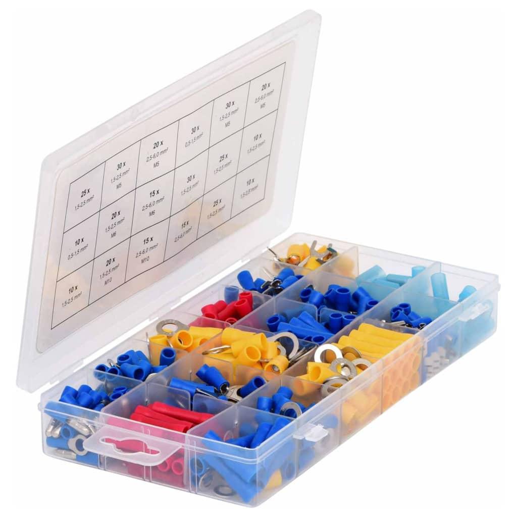 99424936 KS Tools 360-tlg. Quetschverbinder-Sortiment für Kabelquerschnitte
