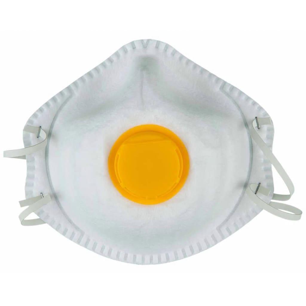 Afbeelding van KS Tools Fijnstof maskers geel 20 st 985.1115