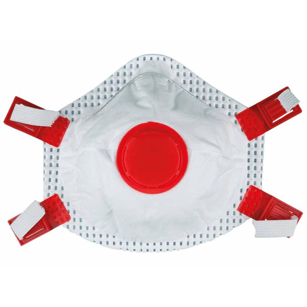 Afbeelding van KS Tools Fijnstof maskers rood 20 st 985.1116
