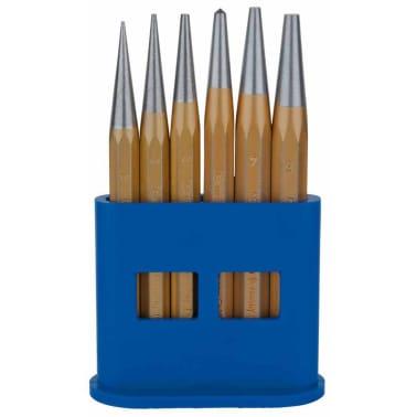KS Tools Jeu de poinçon de centre 6 pcs 1/2/3/4/5 mm 162.2127[1/2]