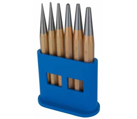 KS Tools Jeu de poinçon de centre 6 pcs 1/2/3/4/5 mm 162.2127[2/2]
