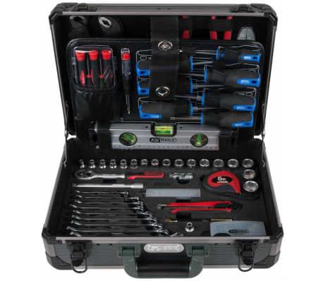 """KS Tools Ensemble d'outils universel 165 pièces 3/8"""" 911.0665[3/10]"""