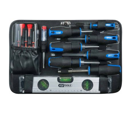 """KS Tools Ensemble d'outils universel 165 pièces 3/8"""" 911.0665[7/10]"""