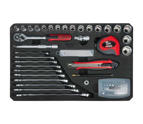"""KS Tools Ensemble d'outils universel 165 pièces 3/8"""" 911.0665[8/10]"""