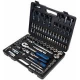 KS Tools CHROMEplus skraldenøgle-, toppe- og bitssæt 96 dele 918.0796