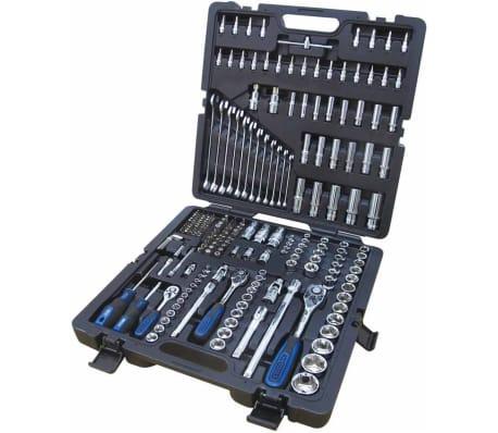 KS Tools CHROMEplus Spärrhandtag, hylsor och bits 216 delar 18.0216