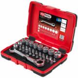 KS Tools Jeu de clé à cliquet, douille et embout 31 pcs 11 mm 918.3050