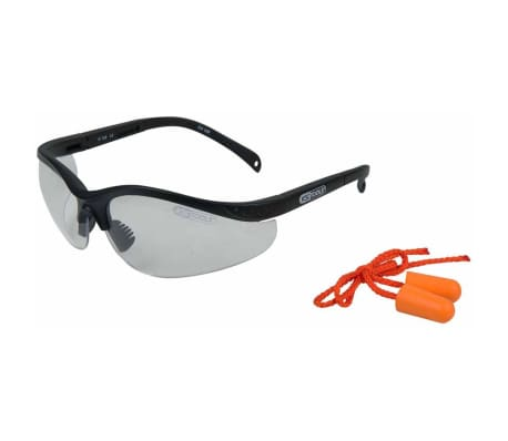 KS Tools Skyddsglasögon och öronproppar transparent 310.0176[1/4]