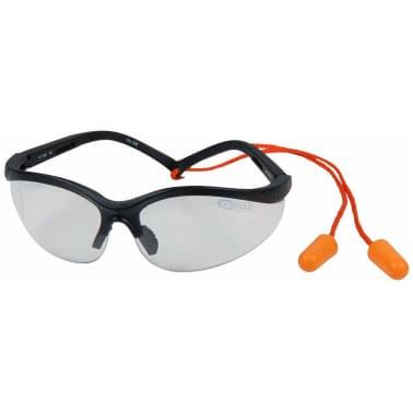 KS Tools Skyddsglasögon och öronproppar transparent 310.0176[2/4]