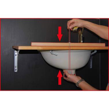 KS Tools Juego de instalación de lavabo de dos piezas 123.0080[3/5]