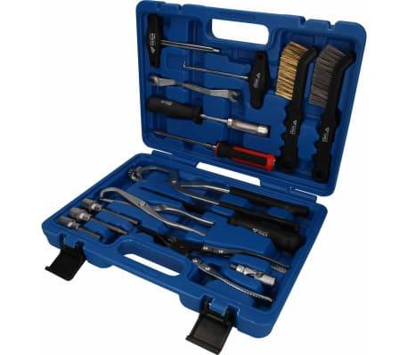 BRILLIANT TOOLS Kit d'outils de disque et de tambour de frein 15 pcs