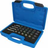 BRILLIANT TOOLS Kit de réparation à filetage pour bac à huile 64 pcs