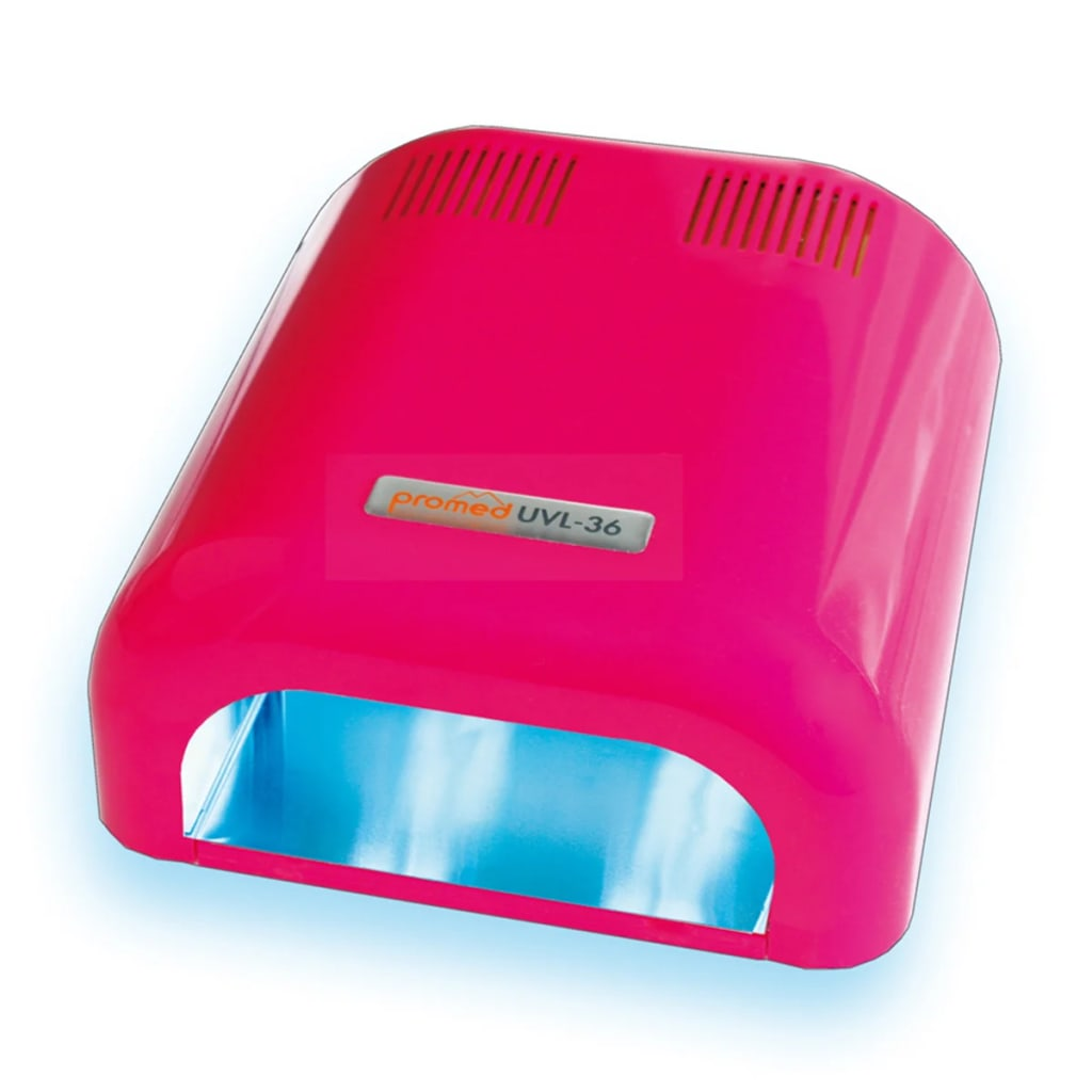 Afbeelding van Promed UV Nageldroger UVL-36 36 W roze 330015