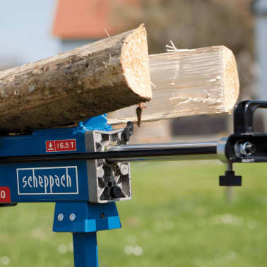 Nykomna Handla Scheppach Hydraulisk vedklyv HL650 2200 W 6,5 ton GH-07