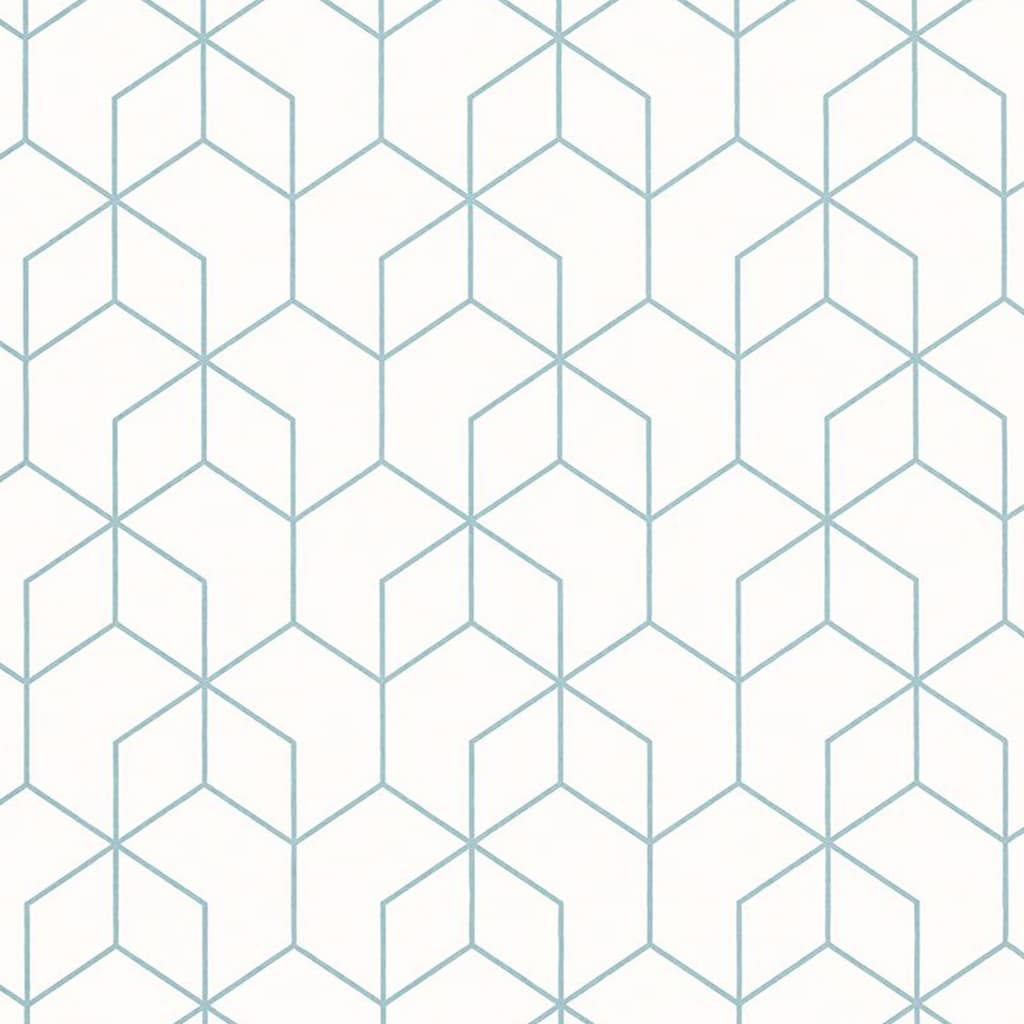 Noordwand tapet Graphic Design blå