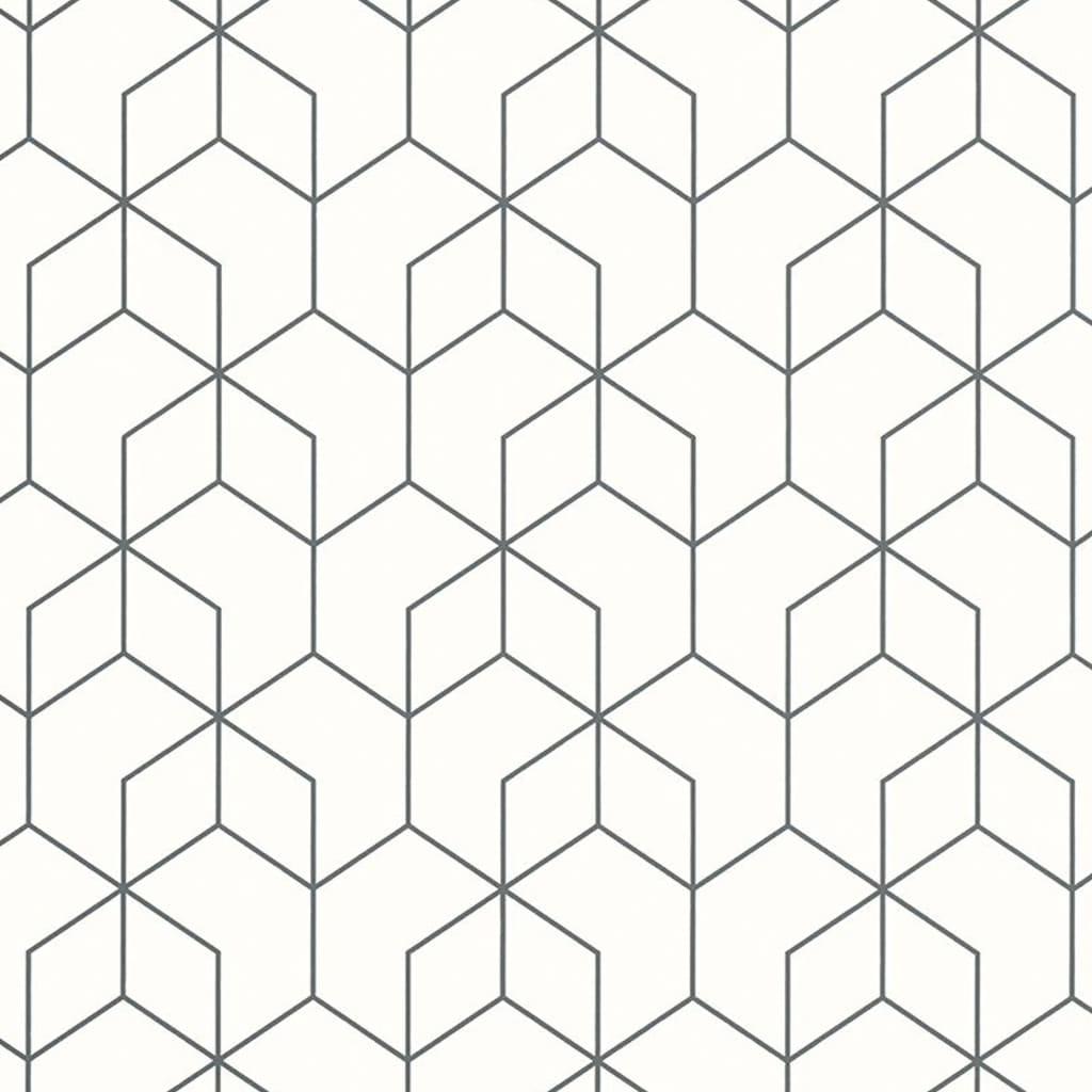 Noordwand tapet Graphic Design sort