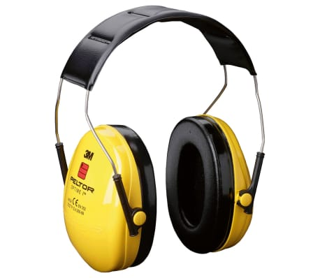 Casque 3M antibruit jaune OPTIME 1 PELTOR H510A[1/2]