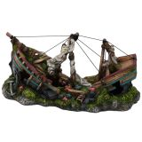 Aqua d'ella Three Masted Ship Strl L 37,5x17,5x20 cm 234/411605