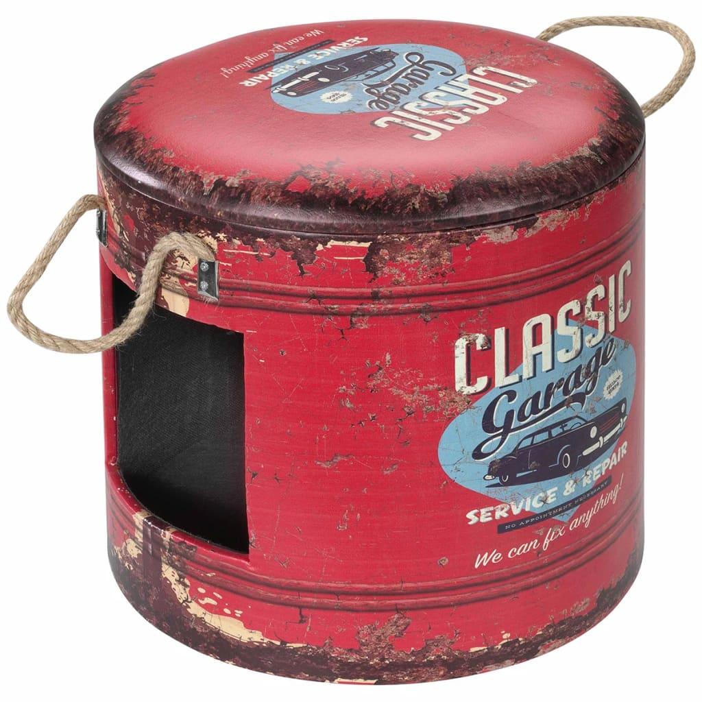 Afbeelding van D&D Dierenhuisje Classic Garage 35x34 cm rood 434/429389